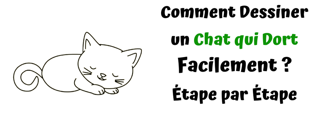 Comment Dessiner un Chat qui Dort Facilement ?