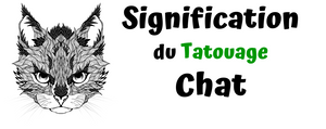 Signification du Tatouage Chat