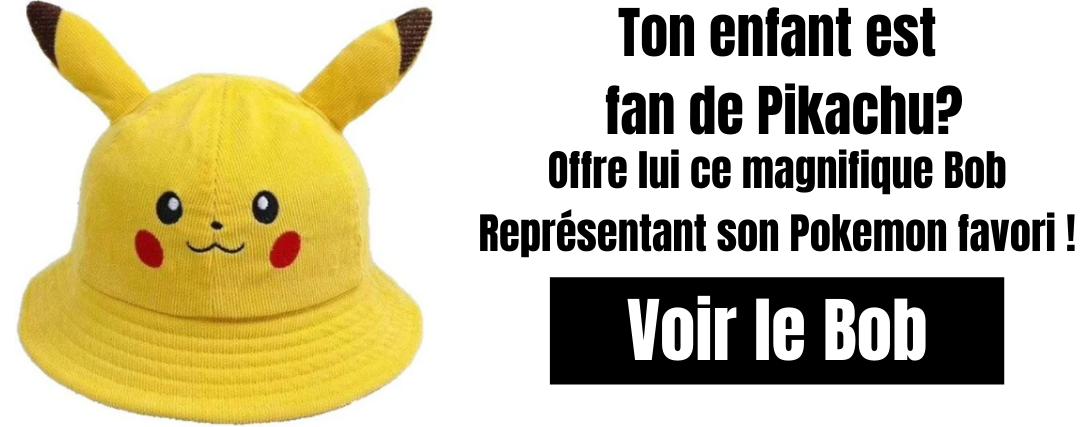 bob pokemon enfant