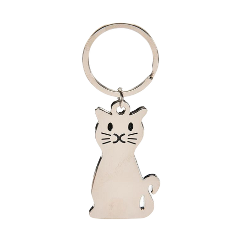 Porte-Clef Chat Metal