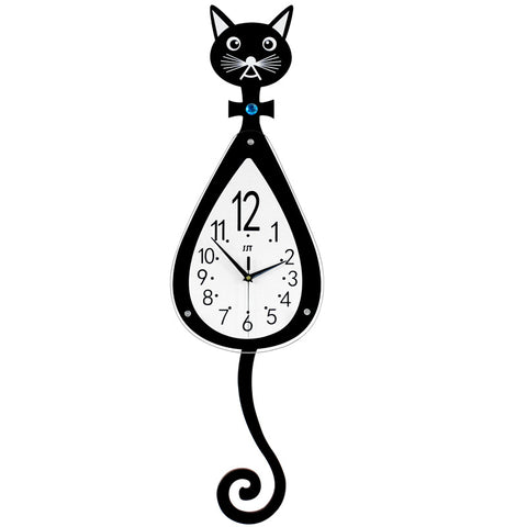 Horloge Chat<br> Longue Queue