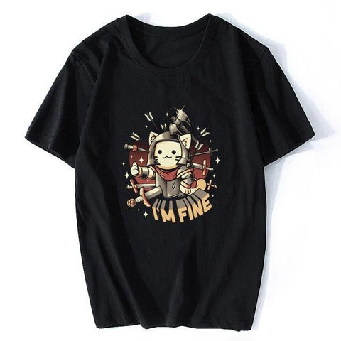 t shirt chat i am fine