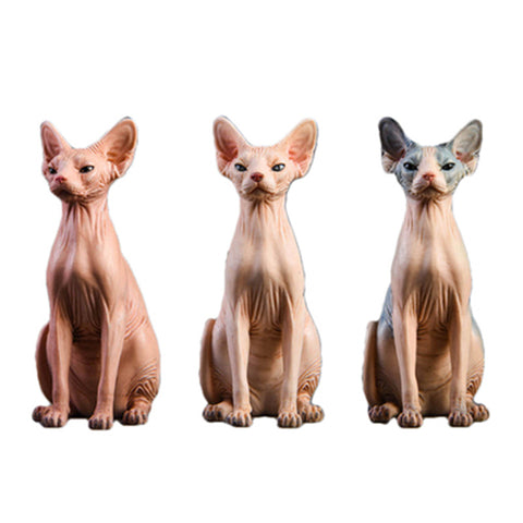 statue chat sphynx