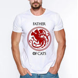 T-Shirt Homme Chat<br> Father Of Cats