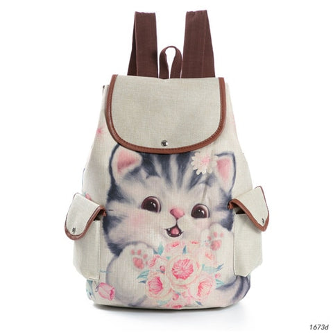 Sac a Dos Chat Pattes
