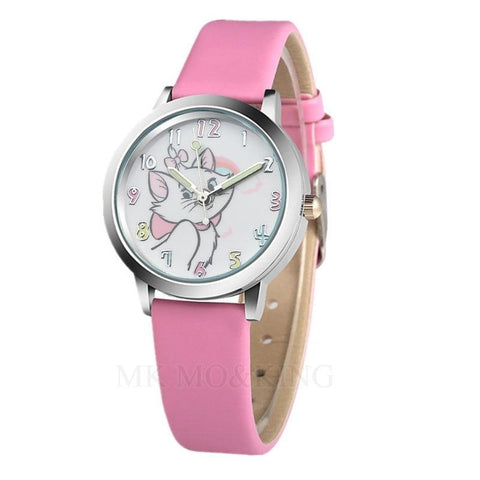 montre chat fille