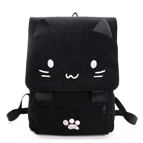 sac a dos chat kawaii