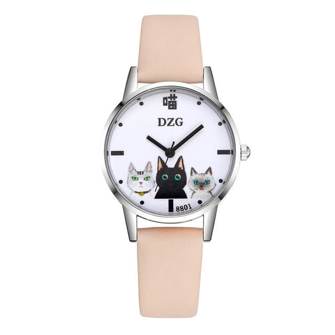 Montre Chat<br> Trio de Matous
