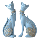 Statuette Chat Resine