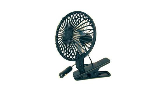 Prime Products Clip-On 12 Volt Fan