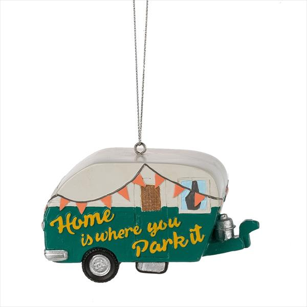 """Home Is Where You Park It"" Ornament"