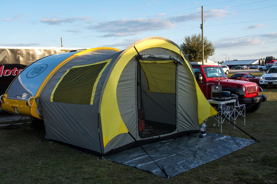 T At B Trailer Pop Up Tent By Pahaque Teardrop Shop Teardropshopcom