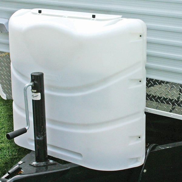 Camco White Propane Tank Cover (20 and 30 Pound Double Tanks)