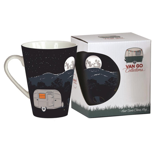 """Silver Bullet"" Airstream Bone China Mug"