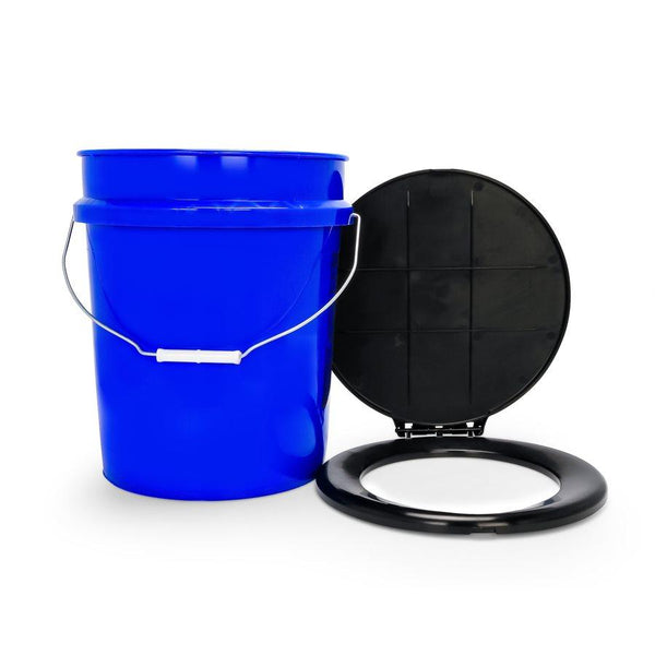Camco Toilet Bucket Kit with Seat