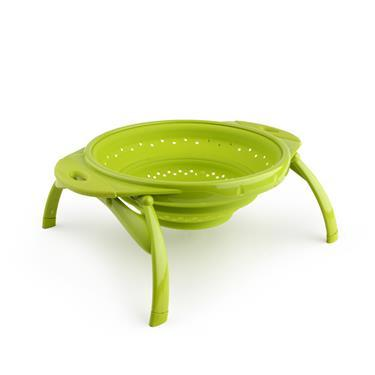 "Dexas Collapsible 10"" Pop Strainer Green"