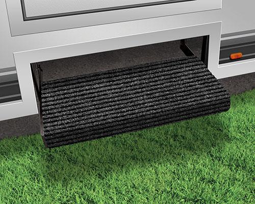 Rugged Straight RV Step Rugs