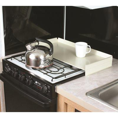 Camco RV White Universal Fit Stove Top Cover