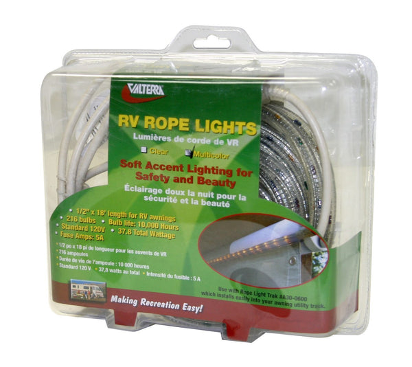 Valterra 18' Multi-Color Rope Lights