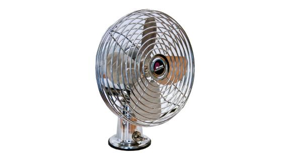 Prime Products 12 Volt Fan - Chrome
