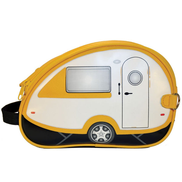 Yellow T@B Teardrop Camper Toiletry Bag