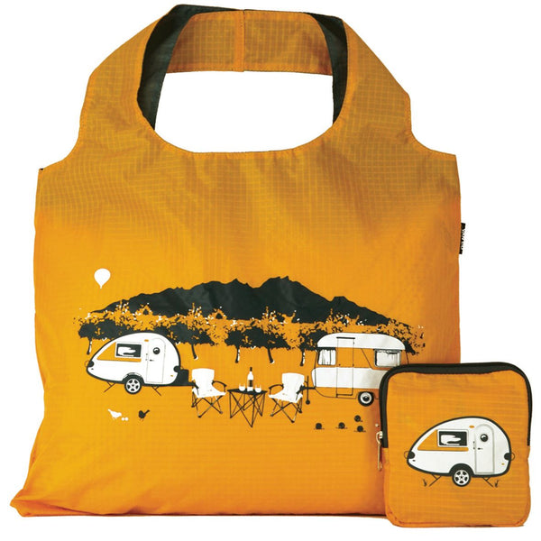 Yellow T@B Teardrop Camper Handy Tote Bag