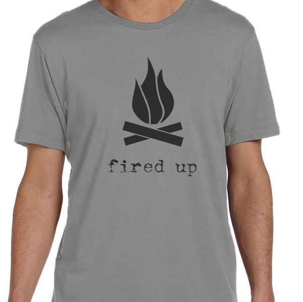 Fired Up Men's Graphic Tee