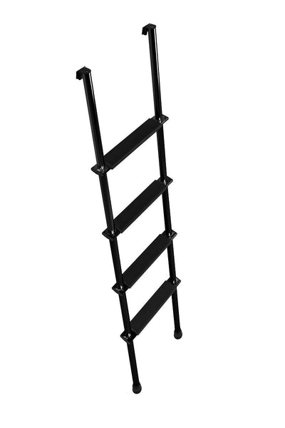 "Stromberg Carlson RV Bunk Ladder - Aluminum - Black - 66"" Tall"