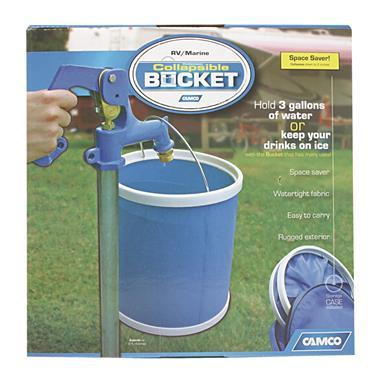 Camco Collapsible 3-Gallon Bucket