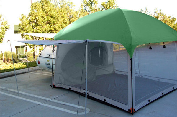 10x10 Side Mount Screen Room Tent by PahaQue & Teardrop Trailer Tents u0026 Shelters | Teardrop Shop u2013 TeardropShop.com