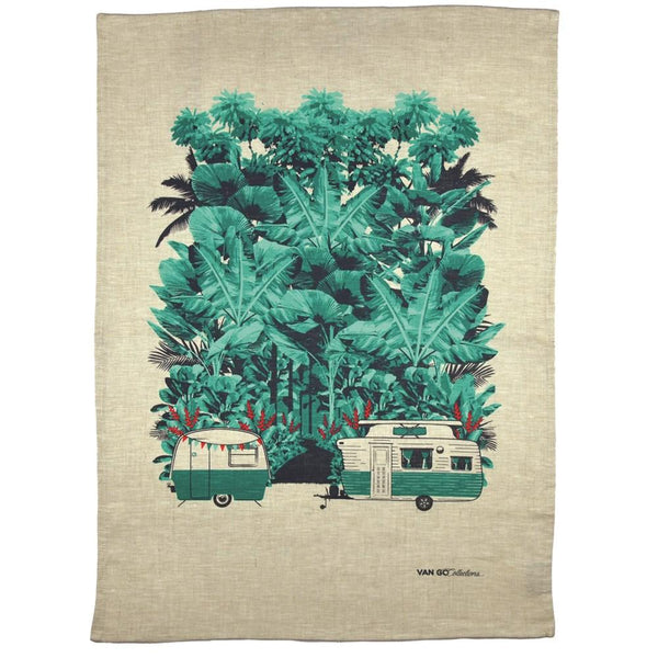 """Magical Mini"" Camper Tea Towel"