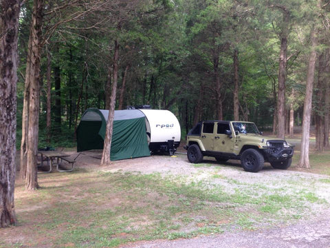 R-Pod Trailer Awning by PahaQue (Fits All Models ...