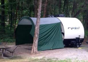 R-Pod Trailer Awning by PahaQue – TeardropShop.com