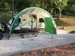 R Pod Trailer Awning By Pahaque Teardropshop Com