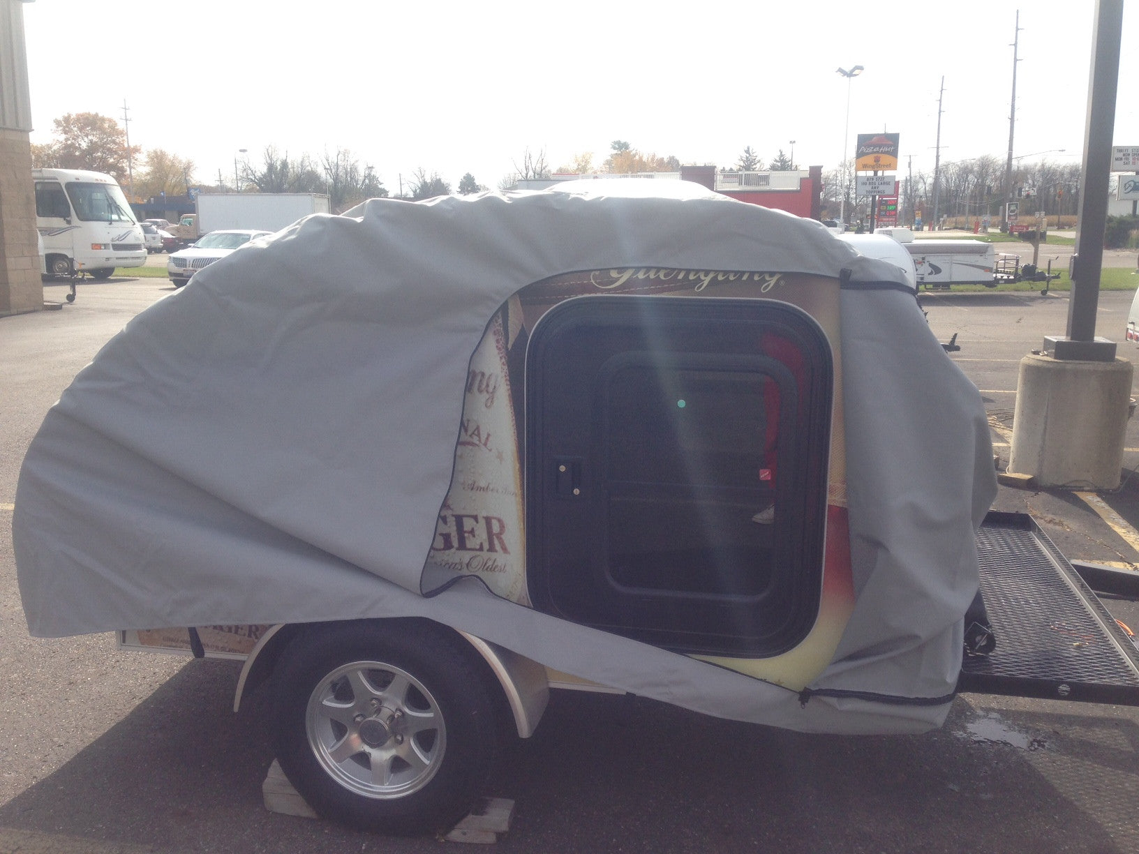 All Weather Cover for Little Guy Trailers – TeardropShop com