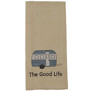 The Good Life Camper Tea Towel