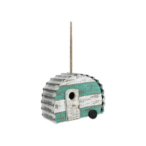 Wood Camper Birdhouse