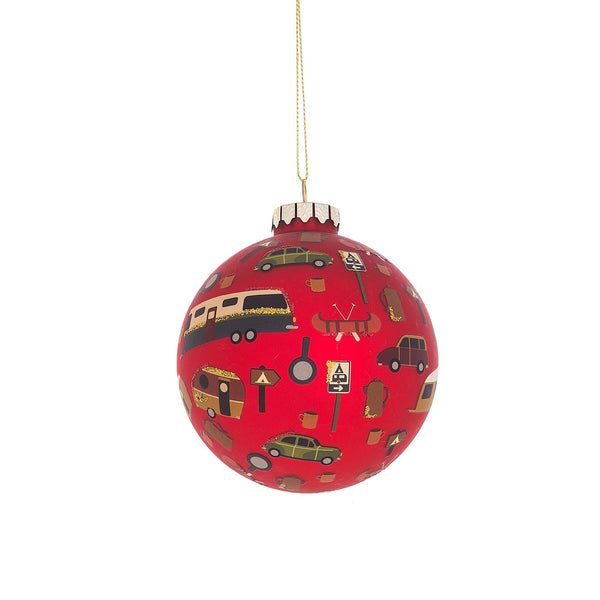 Camper Ball Ornament