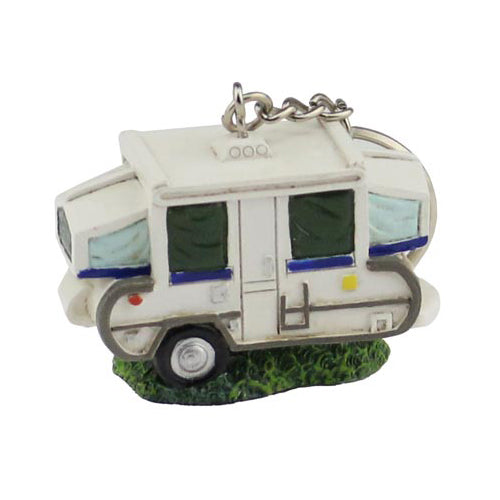 Pop-Up Camper Mini Keychain