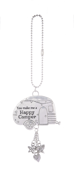 Zinc Camper Car Charms