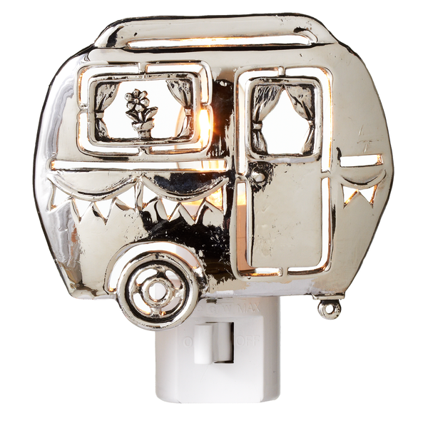 Silver Camper Night Light