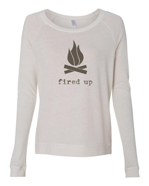 Fired Up Women's Long Sleeve Shirt