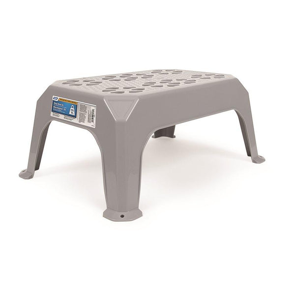 Camco Large Plastic Step Stool (Gray)
