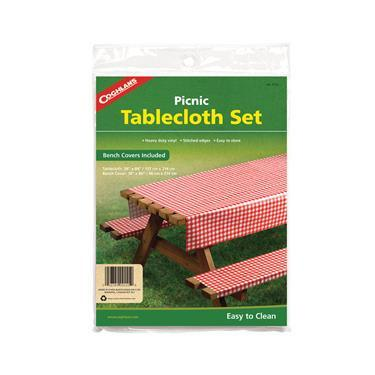 Coghlan's Picnic Table Cloths & Bench Covers