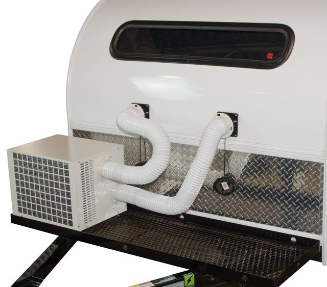 climateright air conditionerheater unit teardropshopcom - Air Conditioner And Heater