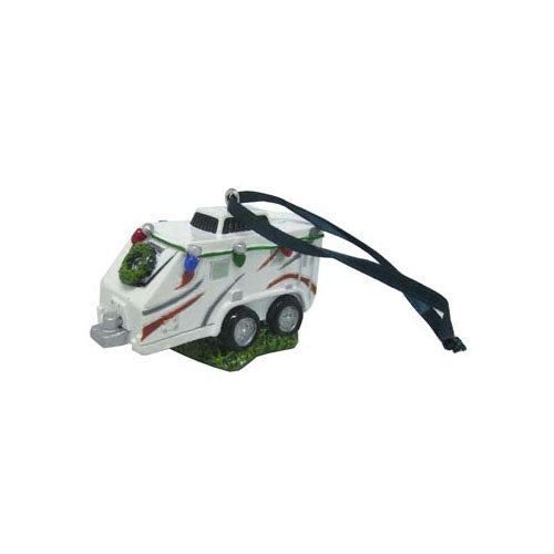Travel Trailer RV Ornament with Lights