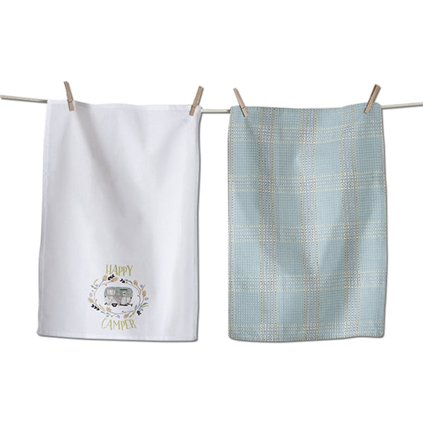 Happy Camper Dishtowel Set