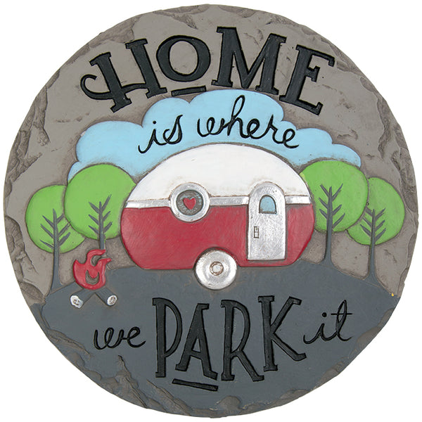 """Park It"" Décor Stepping Stone"