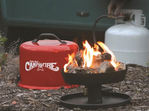 Camco Little Red Campfire Portable Fire Pit