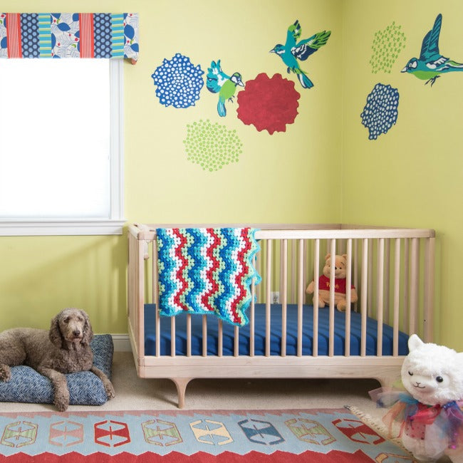 Colorful Nursery: A Colorful Nursery That Will Grow With Baby